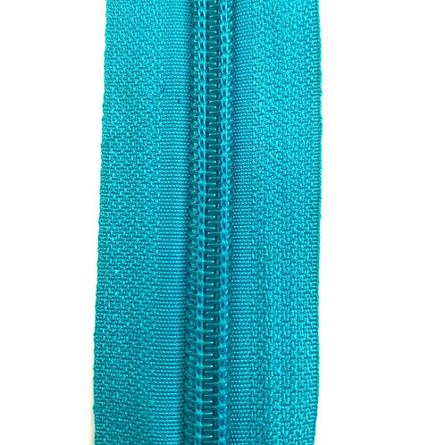 Zipper Nylon #6 (Turquoise)