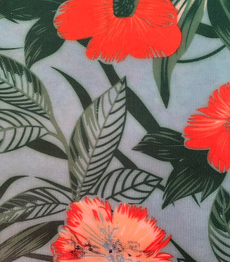Printed Fabric (zHibiscus)