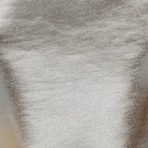 PU Leather - Foil (Silver)