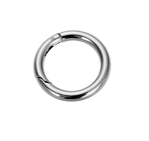 RH01738 - Iron O-ring hook Silver