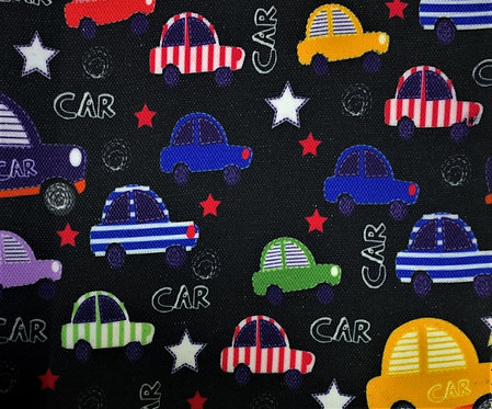 Printed Fabric (Cars)