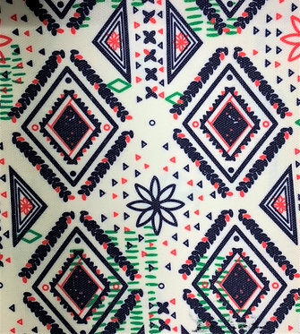 Printed Fabric (Flower of Life)