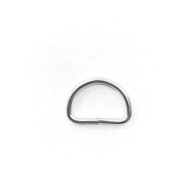 Iron D-Ring Large RG8 Nickel