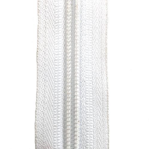 Zipper Nylon #6 (White)