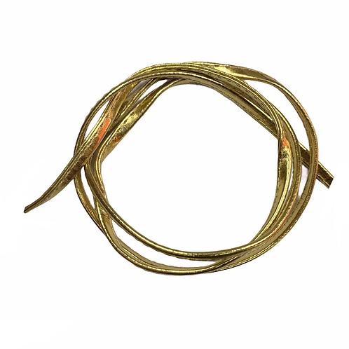 TE23 - Tape PVC Pate Piké 5mm (Gold)
