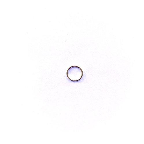 Iron Ring RG01100 (12.5mm) Gold