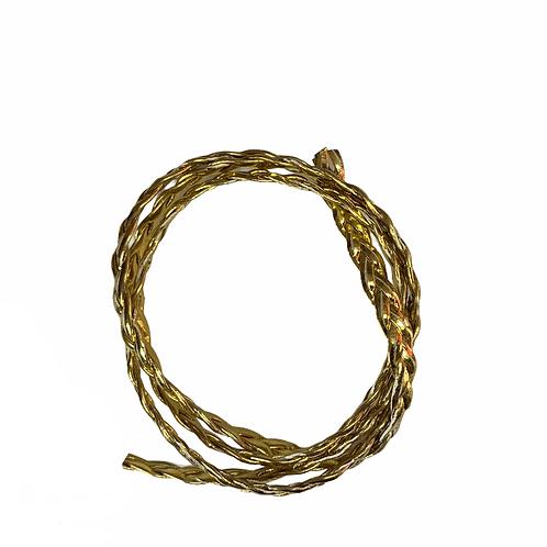 TE2007 - Tape Tressé 6mm (Bronze)