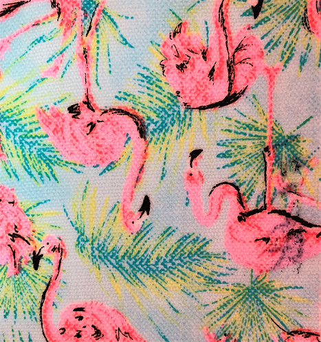 Printed Fabric (Flamingo Fluo)