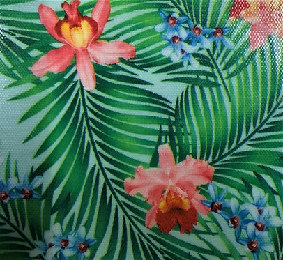 Printed Fabric (Tropical Hibiscus)