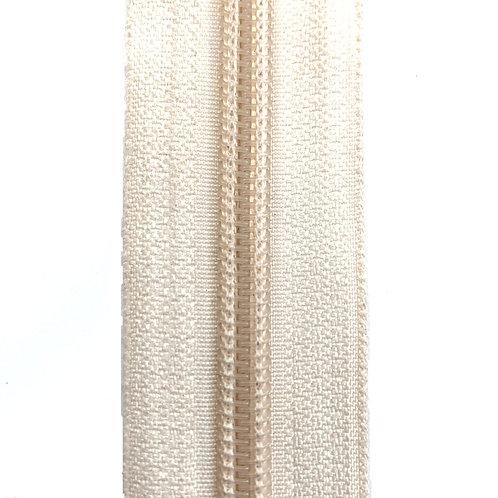 Zipper Nylon #6 (Off White)