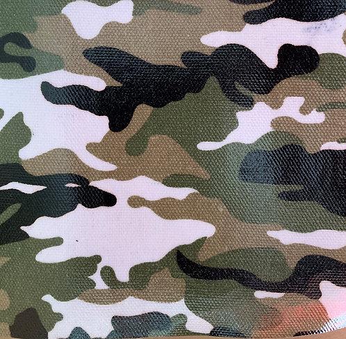 Printed Fabric (Military Camo)
