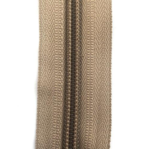 Zipper Nylon #6 (Beige)