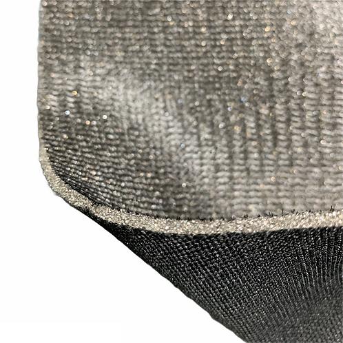 Foam Sandwich Fabric (Black) 1.40m wide