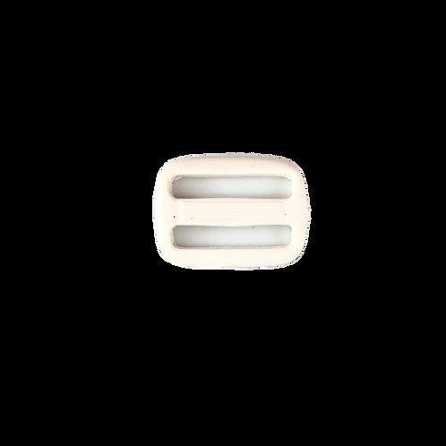 """PVC Buckle BK00003 (1.0"""") White"""