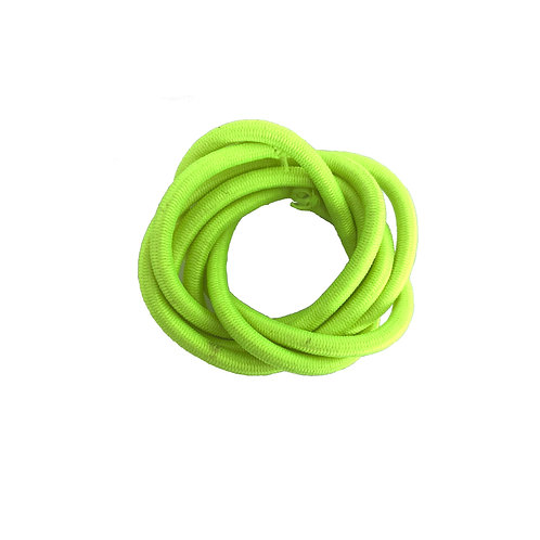 Elastic Round 3mm (Green Fluo)