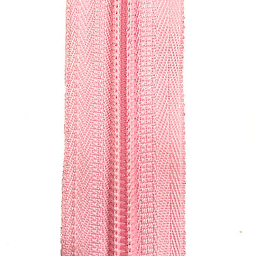 Zipper Nylon #6 (Pink)