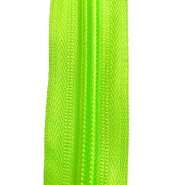 Zipper Nylon #6 (Fluo Green)