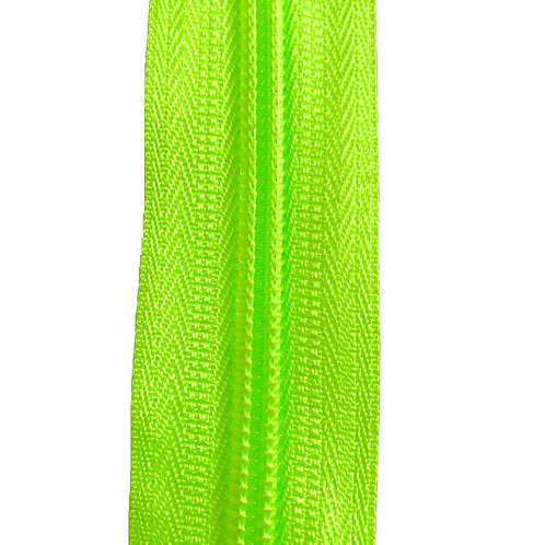 Zipper Nylon #6 (Fluo Green)