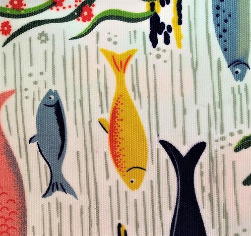 Printed Fabric (Poissons)