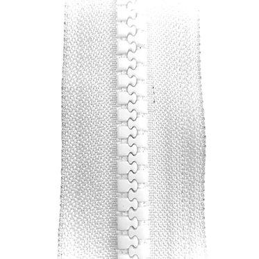 Zipper Nylon Maxi (White)