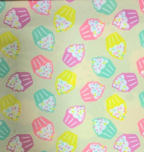 Printed Fabric (Cupcake Party)