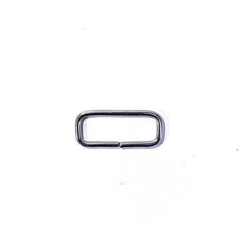 Iron Ring (Rectangle) RG1300 Nickel