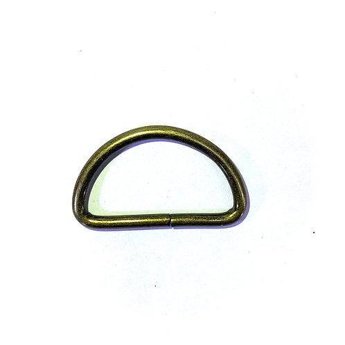 "Iron D-Ring 1.25"" RG39 Bronze"
