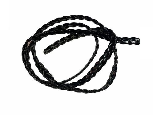 TE2007 - Tape Tressé 6mm (Black)