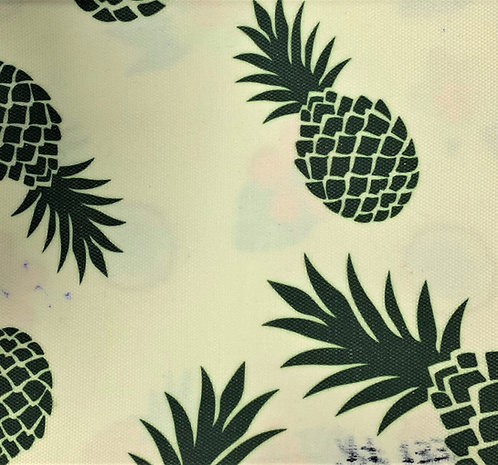 Printed Fabric (Green Pineapple)