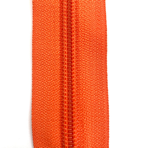Zipper Nylon #6 (Orange)