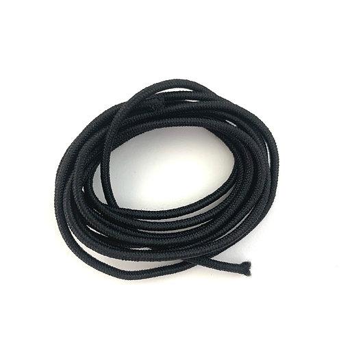 Elastic Round 2mm (Black)