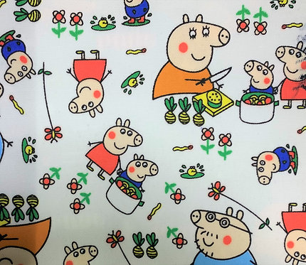 Printed Fabric (Pipa Pig)
