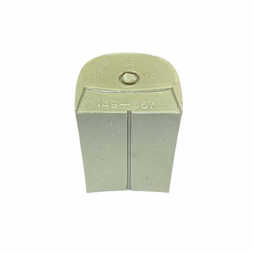 PVC Heel A139-057 beige