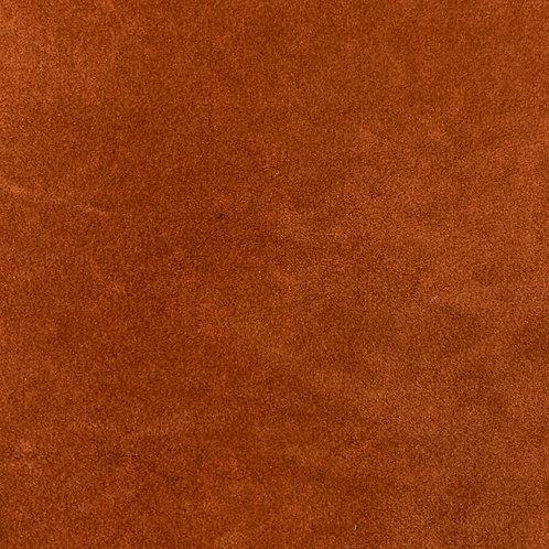 LEV0571 - Leather PU Suede (Rusty Orange)