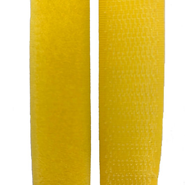 "Hook & Loop / Velcro (0.75"") Yellow"