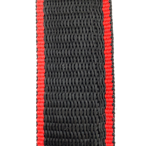 "Webbing WB12501 (1.25"") Red/Black"