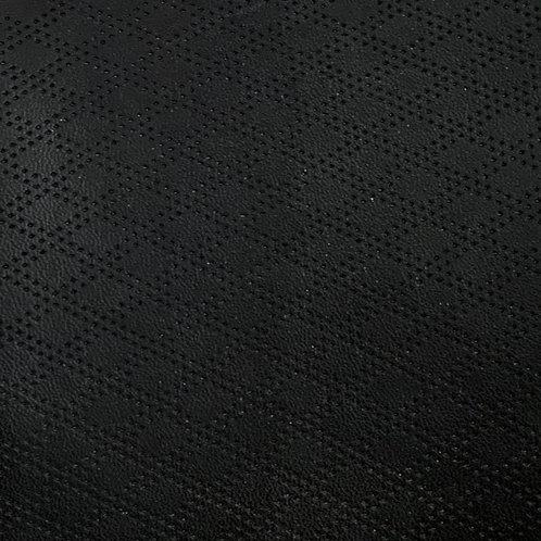 PU Leather - Rhombus (Black)