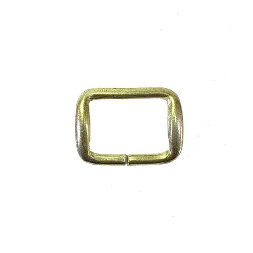 "Iron Ring 1"" (Rectangle) RG1800 Gold"