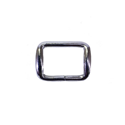 "Iron Ring 1"" (Rectangle) RG1800 Nickel"