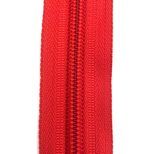 Zipper Nylon #6 (Red)