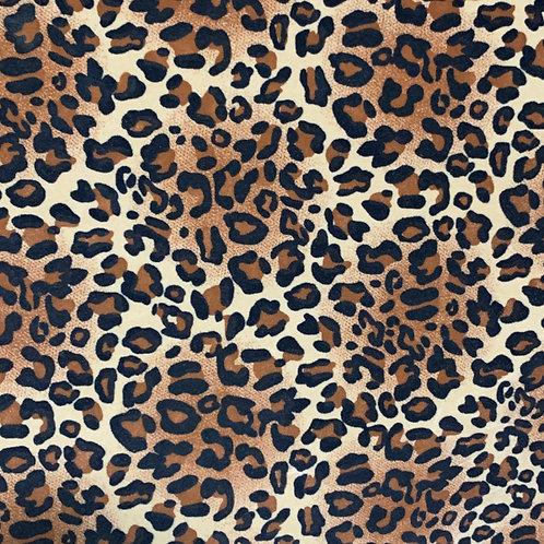 PU Leather - Leopard