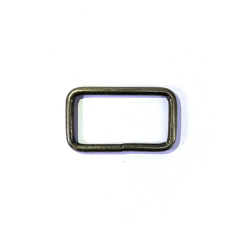 "Iron Ring 1.50"" (Rectangle) RG2501 Bronze"