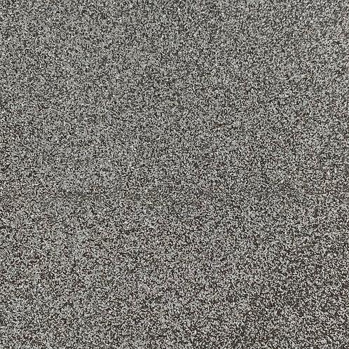 PU Leather - Glitter (Silver)