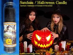 samhain candle