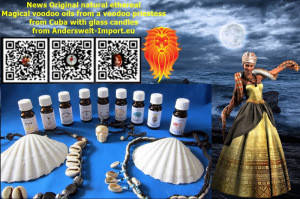 Oli di magia naturale Voodoo Santeria da Cuba