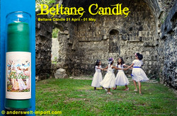 beltane candle