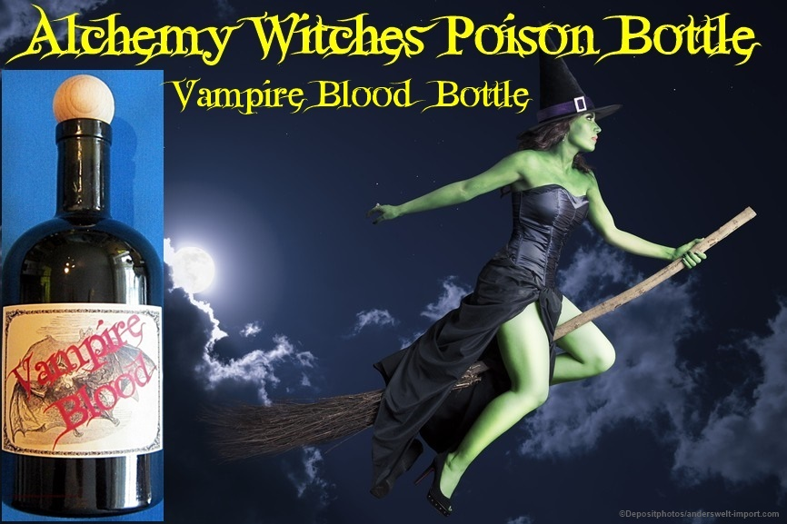 vampire blood bottle