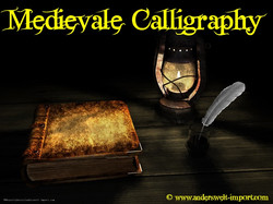 Medievale Calligraphy