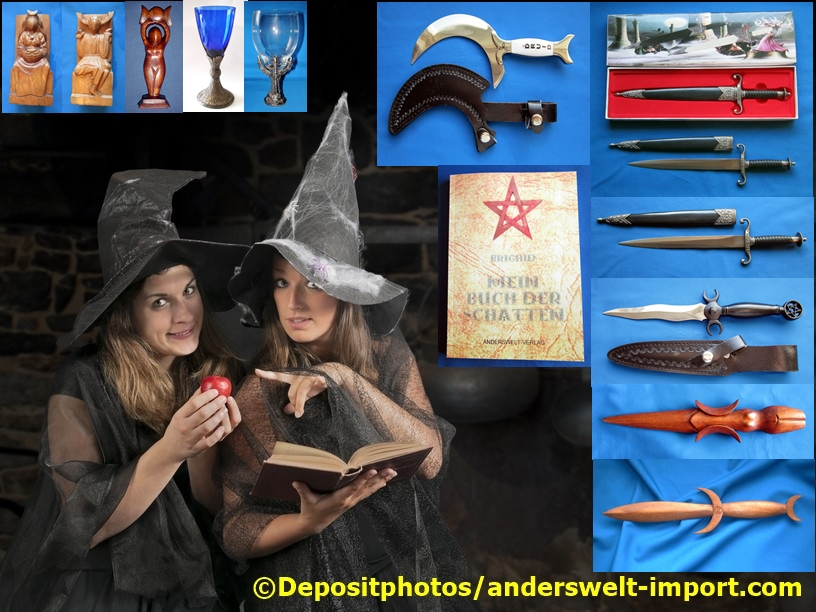 witch athame