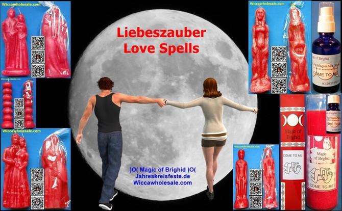 Figurenkerzen Magische Glaskerzen Liebeszauber